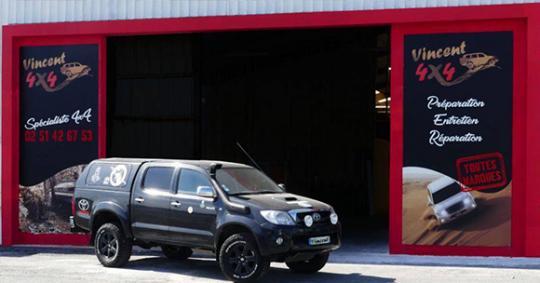 garage vincent 4x4