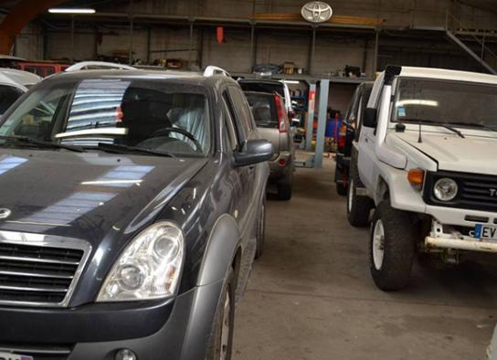 véhicules en vente